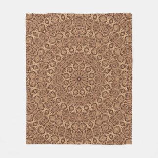 Twisted Rope Kaleidoscope Fleece Blankets 3 sizes