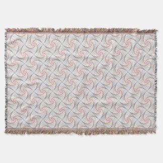 Twisted - Shells Throw Blanket