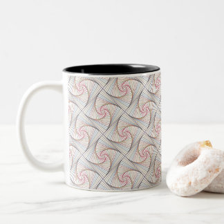 Twisted - Shells Two-Tone Coffee Mug