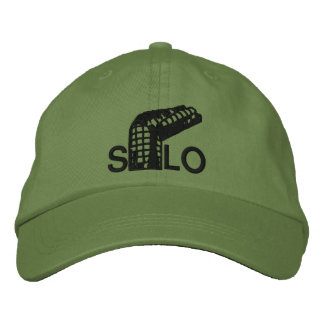 Twisted Silo Embroidered Hat
