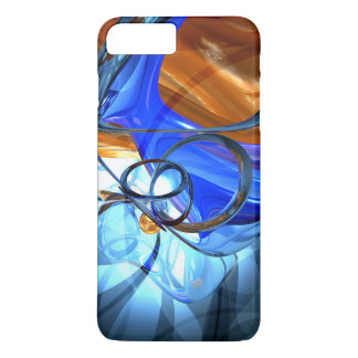 Twisted Spiral Abstract iPhone 7 Plus Case