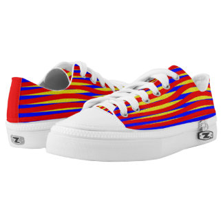 Twisted Stripes Low Tops