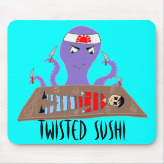 Twisted Sushi Mouse Pad
