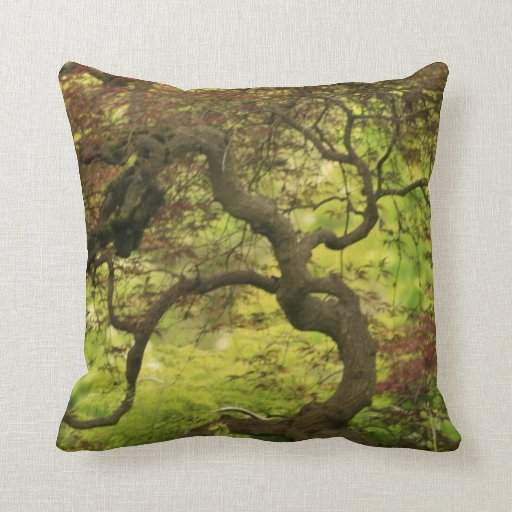 Twisted Trees American MoJo Pillow