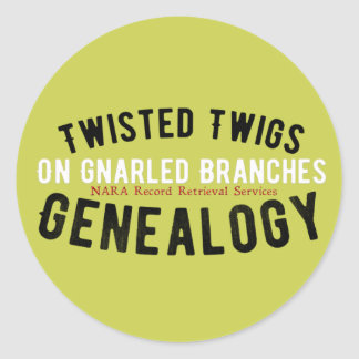 Twisted Twigs Genealogy Stickers