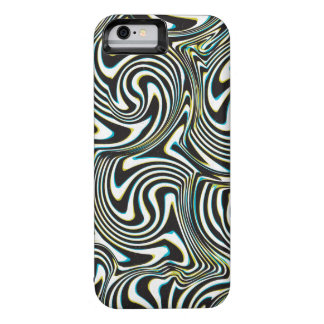 "Twisted zebra stripes pattern ""3D glass effect"""