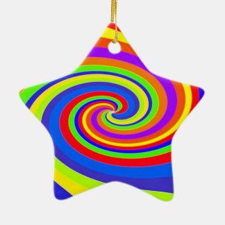 Twister Ceramic Star Decoration