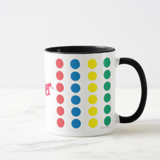 Twister Game Mat Mug