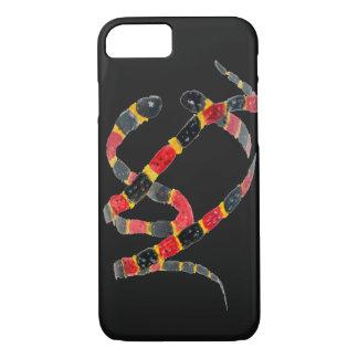 Twisting Snake Art iPhone 7 Case