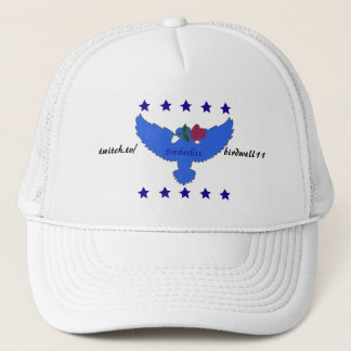 Twitch Blue Logo Hat