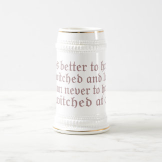 Twitched and Lost... Beer Stein