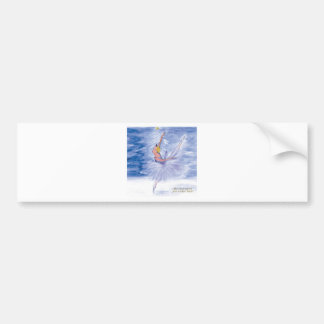 Twitt Snow Queen-Nutcracker Ballet by Marie L Bumper Sticker