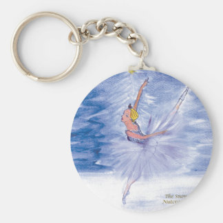 Twitt Snow Queen-Nutcracker Ballet by Marie L Key Ring