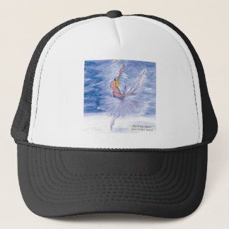 Twitt Snow Queen-Nutcracker Ballet by Marie L Trucker Hat
