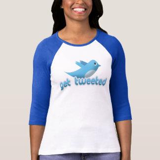 Twitter Bird Get Tweeted Shirt