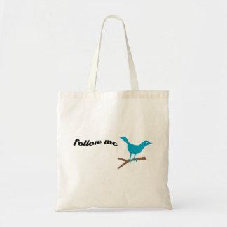 Twitter Blue Bird Follow Me Bag