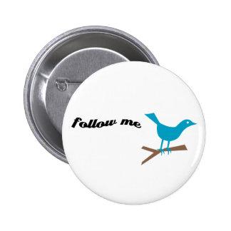 Twitter Blue Bird Follow Me Button