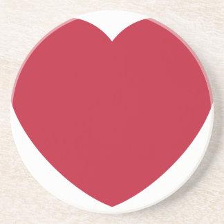 Twitter Coils Heart Emoji Coasters