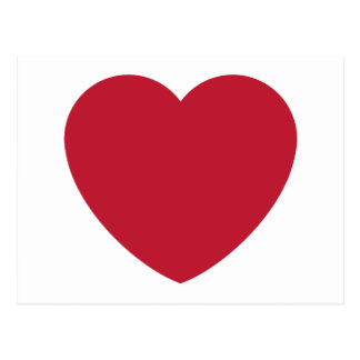 Twitter Coils Heart Emoji Postcard