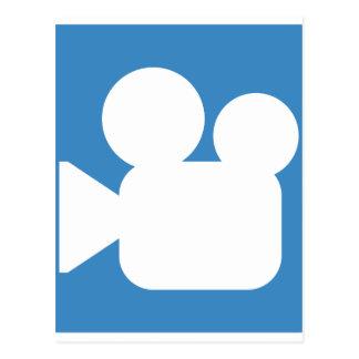 Twitter Emoji - camera symbol film Postcard