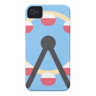 Twitter Emoji - Ferris Wheel iPhone 4 Case