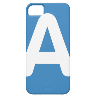 Twitter Emoji - Letter A Barely There iPhone 5 Case