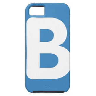 Twitter emoji - Letter B iPhone 5 Case