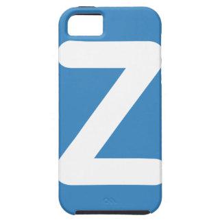 Twitter Emoji - Letter Z iPhone 5 Case