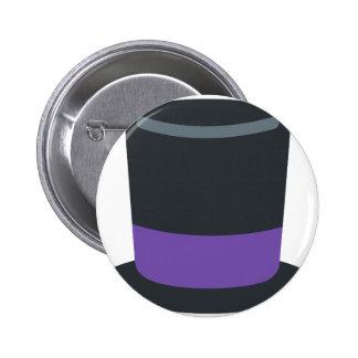 Twitter emoji - Magician hat 6 Cm Round Badge
