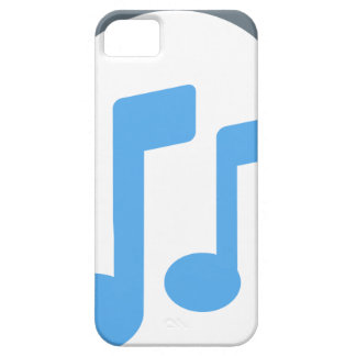 Twitter emoji - Music, Headphone iPhone 5 Cover