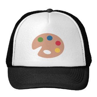 Twitter emoji - Painting Pallet Cap