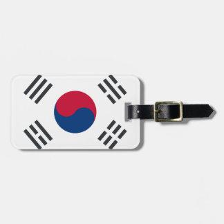 Twitter emoji - South Korea Flag Luggage Tag