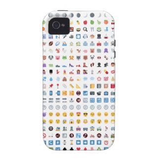 Twitter Emoji (Twemoji) Vibe iPhone 4 Cases