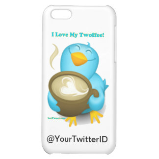 Twitter ID I Love My Twoffee Gifts Apparel Case For iPhone 5C