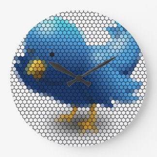Twitter Little Bird Large Clock
