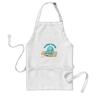 Twitter LOVE Apparel Gifts Collectibles Apron