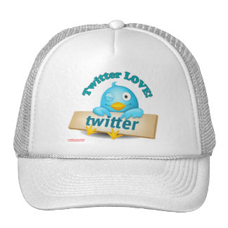 Twitter LOVE Apparel,Gifts & Collectibles Cap