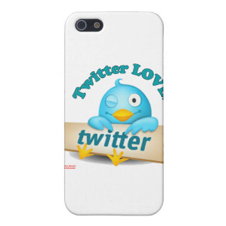 Twitter LOVE Apparel,Gifts & Collectibles Case For The iPhone 5