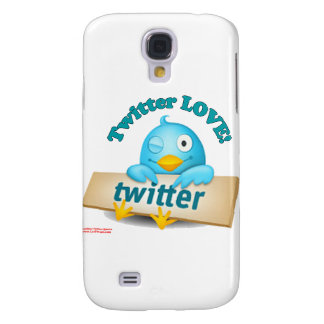 Twitter LOVE Apparel,Gifts & Collectibles Galaxy S4 Covers