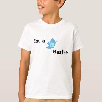 Twitter Master Kids T-Shirt