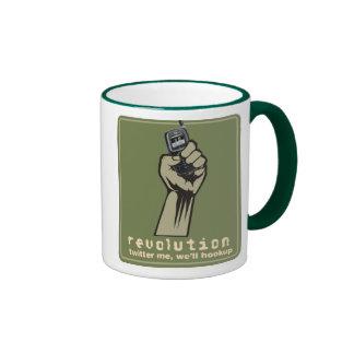 Twitter Revolution 5 Ringer Mug