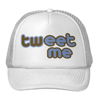 Twitter Tweet Me Offensive Humor Trucker Hat