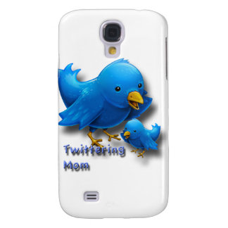 Twittering mom samsung galaxy s4 cover