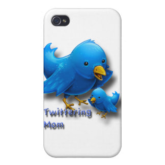 Twittering mom iPhone 4/4S covers
