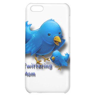 Twittering mom case for iPhone 5C