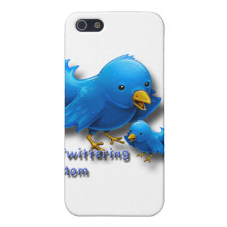 Twittering mom iPhone 5 cases