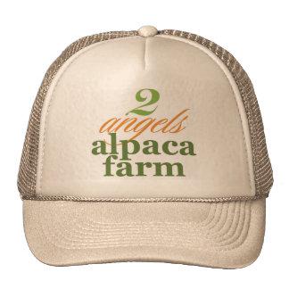 Two Angels Alpaca Farm Cap