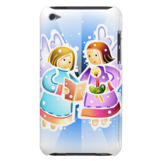 Two angels singing iPod Case-Mate case