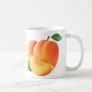 Two apricots basic white mug