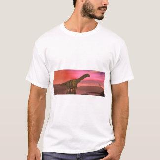 Two argentinosaurus dinosaurs T-Shirt